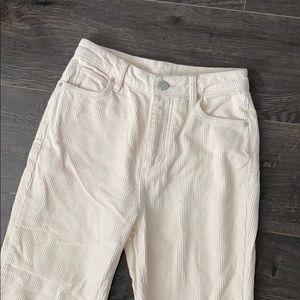 Mom High-Rise Corduroy Pants